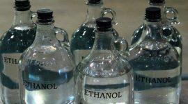 Бутылки с этанолом