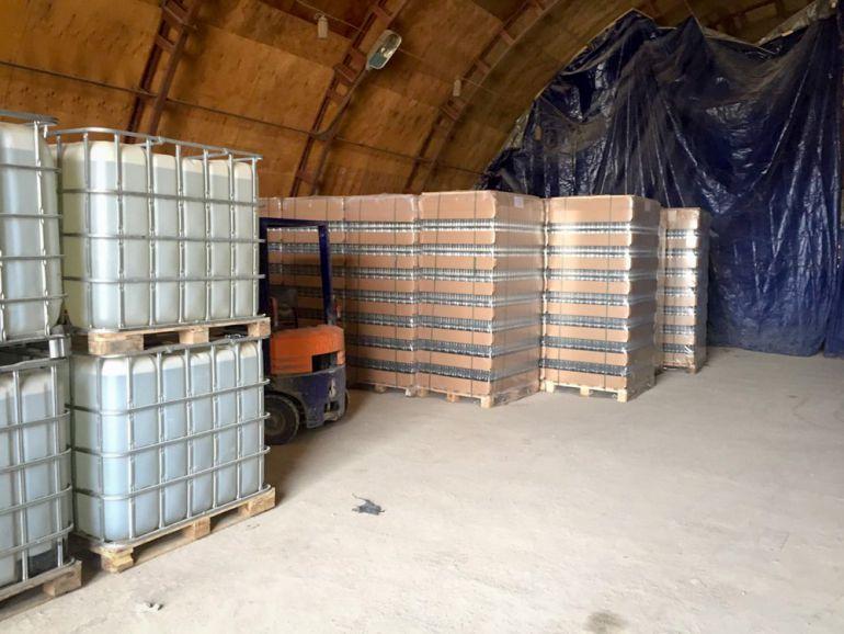 В Волгоградской области ликвидировали нелегальное производство алкоголя