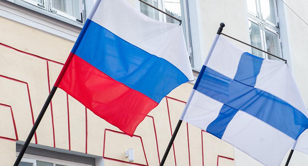 Государственная символика России и Финляндии