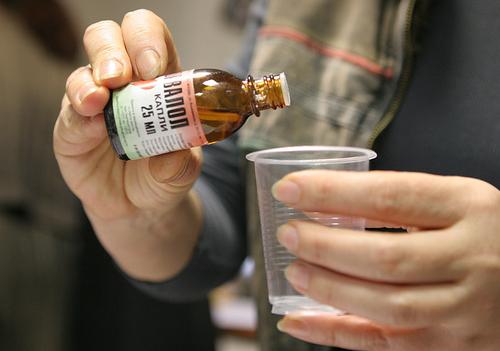 Спиртосодержащее лекарство