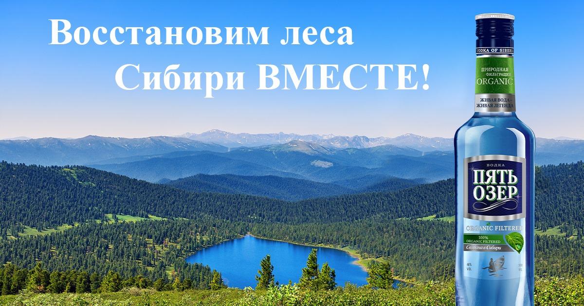 Агитплакат по восстановлению лесов Сибири