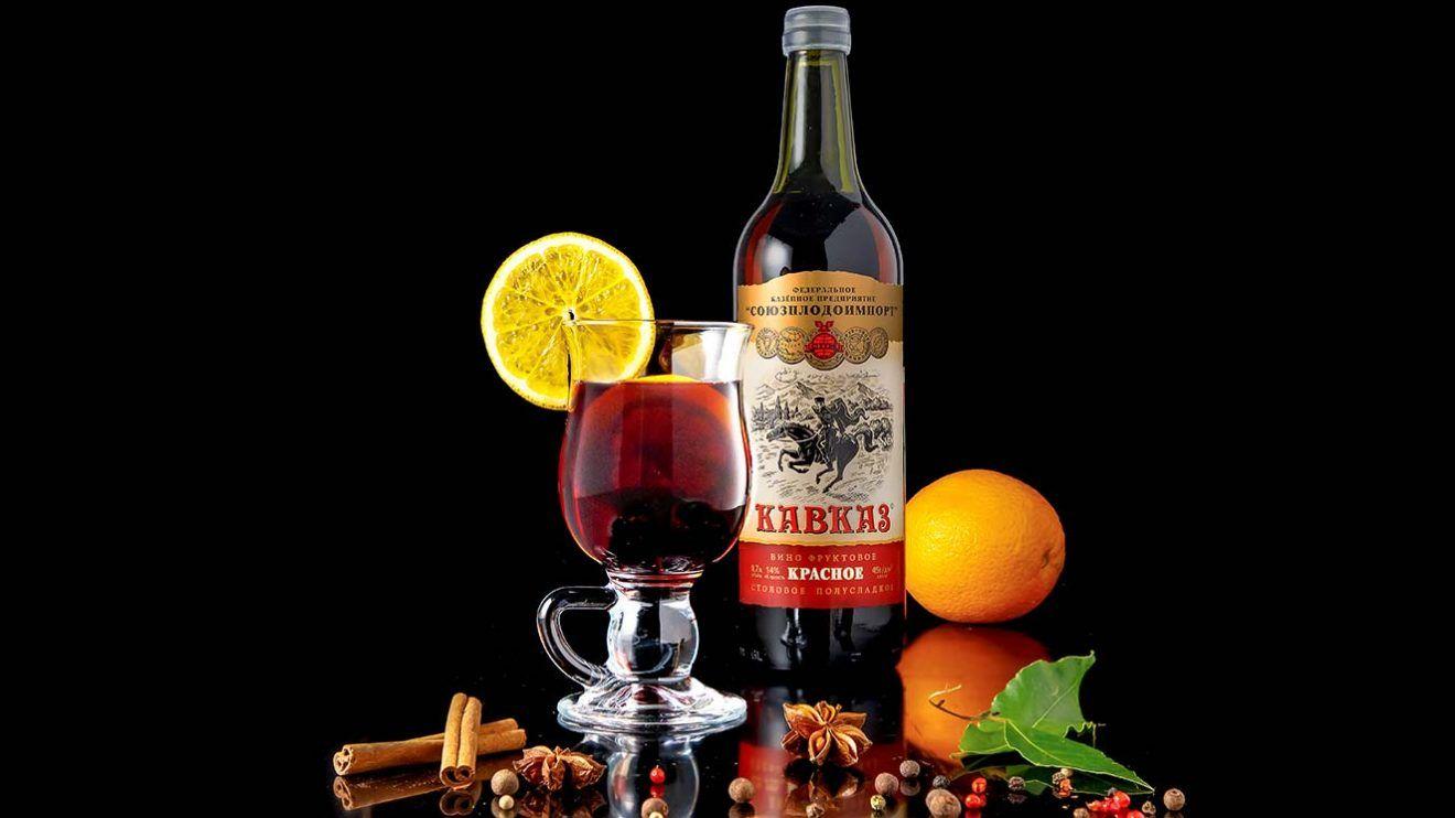 """Вино фруктовое """"Кавказ"""""""