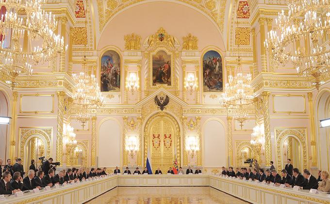 Заседание Госсовета России