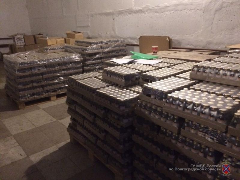 Склад с контрафактным алкоголем в Вологодской области
