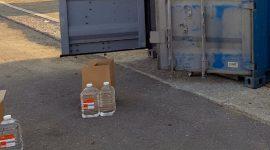 Росалкоголь пресек незаконную перевозку 22 тонн медицинского спирта во Владикавказе