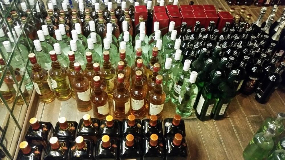 Нелегальный алкоголь на 3,5 млн рублей изъяли в Воронежской области