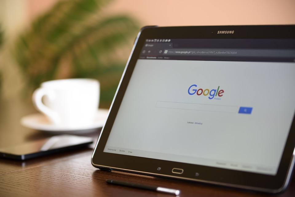 Поисковая система в Сети Google