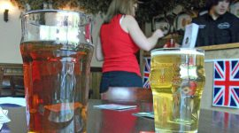 Пиво в британском пабе